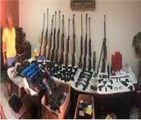 حوادث أسيوط في أسبوع| أبرزها ضبط ورشة لتصنيع الأسلحة