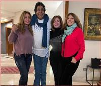 إلهام شاهين وليلى علوي وسميرة سعيد في ضيافة الكينج محمد منير