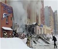 انفجار أسفل مبنى سكني وسط روسيا