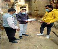 لجنة متابعة التصالح في مخالفات البناء تجوب قرى منوف