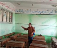 استعداد 133 مدرسة ثانوي لامتحانات نصف العام بالمنيا