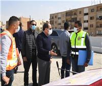 جولة تفقدية للرئيس السيسي لمتابعة تطوير الطرق والمحاور بشرق القاهرة |صور