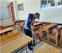 مدارس وكليات دمياط «جاهزة» لامتحانات الفصل الدراسي الأول| صور