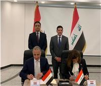 «عبد الوهاب» وسفير مصر بالعراق يشهدان تطوير منطقة صناعية