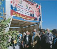 صور | وزير الزراعة يتفقد المشروعات الزراعية ومعصرة الزيتون بجنوب سيناء.