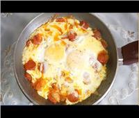 عشاء اليوم | أسهل طريقة لعمل بيض بالبلح في 5 دقائق