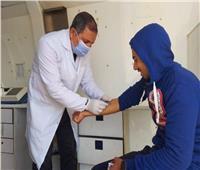 الكشف على 141 مواطناً في قافلة طبية بقرية الزعفرانة شمال البحر الأحمر