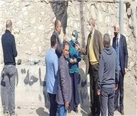 نائب محافظ القاهرة: تطوير ورفع كفاءة محور زهراء المعادي