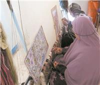 القرى المنتجة| «البشندي».. سجاد وكليم ورسم بالرمال