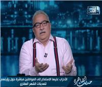 إبراهيم عيسى: تعديل قانون الشهر العقاري يحتاج إلى حوار مجتمعي حقيقي
