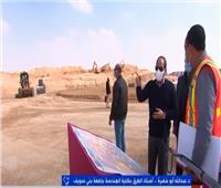 أستاذ طرق: الرئيس السيسي حريص على التواجد وسط العمال في المشروعات  فيديو