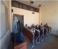 إنطلاق امتحانات الفصل الدراسي الأول في «ألسن عين شمس».. صور