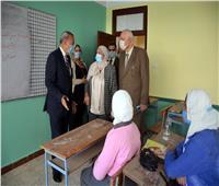 محافظ القليوبية يتفقد لجان امتحان الفصل الدراسي الأول ببنها