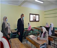 وكيل تعليم القليوبية: انتظام سير الامتحانات بالمدارس
