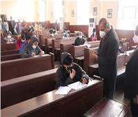 رئيس جامعة الأزهر يتفقد لجان امتحانات كليات الدراسة ويشيد بالالتزام