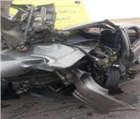 مصرع وإصابة 4  بينهم بريطاني في حادث أمام مزار عيون موسى