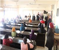 رئيس جامعة الأزهر يتفقد لجان الطالبات بمدينة نصر | صور