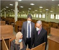 رئيس جامعة طنطا:انتظام سير الامتحانات دون شكاوى وجولات مكثفة للنواب