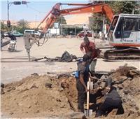 محافظ أسوان: بدء مشروع إحلال وتجديد شبكات الصرف الصحي بكورنيش النيل