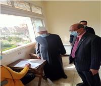 نائب رئيس جامعة الأزهر للوجه البحري يتفقد امتحانات الفصل الدراسي الأول