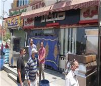 غلق 11 محل تجاري و113 محضراً لمخالفة الإجراءات الاحترازية ببني سويف