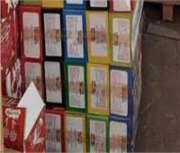 اعدام 328 كيلو أغذية فاسدة بالمنيا