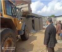 إزالة 600 متر مباني مخالفة وتعديات على أملاك الدولة بالإسكندرية