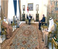رسالة خاصة من أمير الكويت للرئيس السيسي.. نقلها وزير الخارجية| صور