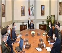 اجتماع موسع لـ«السيسي» لاستعراض البنية التحتية لـ«الحي الحكومي» بالعاصمة الإدارية