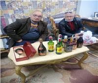 «التهرب الجمركي» بالأقصر تضبط 10 زجاجات مشروبات كحولية