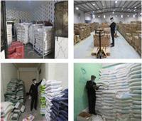 «البيئة والمسطحات» تغلق مخازن إحدى شركات الإسمنت لتعديها على الأراضي الزراعية