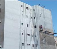 بالصور| محافظ بورسعيد: العمل جارٍ في تطوير عمارات «السيدة نفيسة» وشوارعها