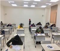 جولات لرئيس جامعة الملك سلمان الدولية لمتابعة سير الامتحانات