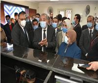 وزير التموين يتفقد مراكز خدمة المواطنيين بالشرقية