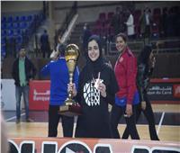 لاعبة سلة الأهلى: التتويج بكأس مصر خطوة نحو حصد كل الألقاب