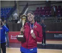 نور علي لاعبة «سلة الأهلى»: سعيدة بالتتويج والروح القتالية وراء الفوز