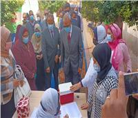 بدء الحملة القومية للتطعيم ضد مرض شلل الأطفال بالقليوبية.. صور