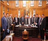 تشكيل هيئة مكتب مجلس نقابة المحامين بالمنوفية