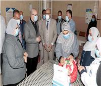 محافظ بني سويف يطلق شارة بدء الحملة القومية للتطعيم ضد شلل الأطفال