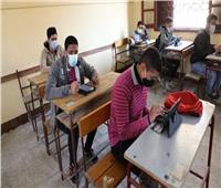 تشديد الإجراءات الاحترازية خلال امتحانات الفصل الدراسي الأول بالمنيا