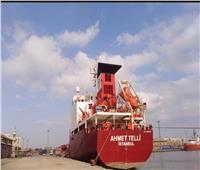 شحن 5000 طن صودا كاوية بميناء غرب بورسعيد
