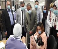 محافظ الاسماعيلية يشهد انطلاق حملة التطعيم ضد شلل الأطفال