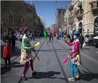 بسبب «مخاوف كورونا».. إسرائيل تغلق مدينة القدس في عيد المساخر