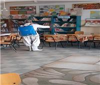 «جهاز الشروق»: تعقيم المدارس تزامناً مع استئناف العام الدراسي ضد كورونا
