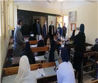 وكيل تعليم البحيرة يتفقد لجان امتحانات «الثاني الثانوي والرابع الابتدائي»
