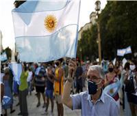 تظاهرات في الأرجنتين احتجاجًا على التمييز في إعطاء لقاحات كورونا