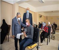 رئيس جامعة طنطا يتفقد لجان الامتحانات لليوم الثاني