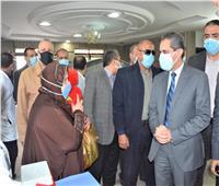 محافظ الغربية يشهد إطلاق فعاليات الحملة القومية للتطعيم ضد شلل الأطفال