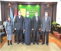 بروتوكول تعاون بين جامعة الإسكندرية و«الأوقاف» لتدريب الأئمة والواعظات