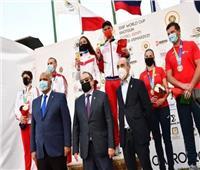 قائد منتخب روسيا يشيد بتنظيم مصر لكأس العالم للرماية